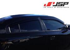 Dodge Charger Window Vent Deflector Rain Guard Visor 2011-2018 JSP 218046 Smoke