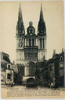 Vintage Angers France RPPC Cathedrale Sainte-Maurice d'Angers Cathedral Postcard