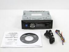 Alpine CDE-SXM145BT Advanced Bluetooth CD 1 DIN Receiver - No SiriusXM Tuner!