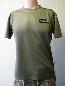 British Army Coolmax T Shirt Self Moisture Wicking Breathable Military Surplus