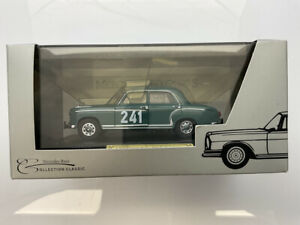 🔴  FALLER 1:43 Mercedes-1956-59 W180 220 S Ponton RARE Mercedes Museum issue