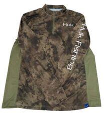 Huk Men's Icon SubPhantis 1/4 Zip Long Sleeve Shirt