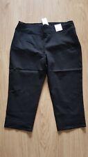 ~NEW~ AUTOGRAPH Plus Size 20 Super Stretch Crop Pants BLACK Ladies