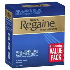 Regaine Solution Mens Extra Strength 4 Month Pack