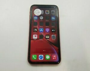 Apple iPhone XR A1984 128GB Unlocked Check IMEI Good Condition -RJ4676