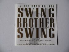 Various Artists - Swing Brother Swing (16 Big Band Greats) (CD 1996) - CD.