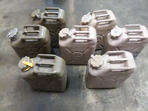 Scepter military 5 gallon fuel cans