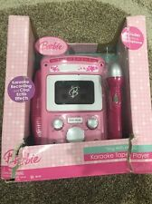Barbie Sing with Me Karaoke Tape Player