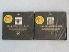 Lot 2 JEAN-SEBASTIEN BACH Magnificat & Sinfonia 6 CDs Naxos Gold Collection