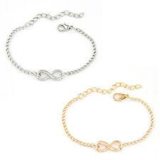Armband Unendlichkeit Infinity Eternal Love Armkette für Frauen