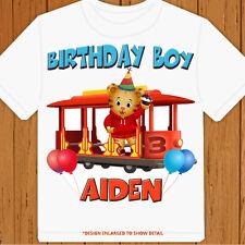 Daniel Tiger's Neighborhood - Personalized Size, Name & Age - Birthday T-Shirt