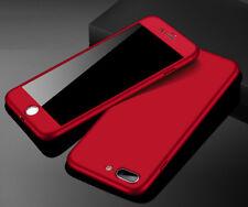 Delgada 360° Protección Plástico Funda carcasa para IPHONE/SAMSUNG/HUAWEI/XIAOMI