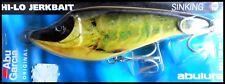 VINTAGE ABU HI-LO JERKBAIT SINKING 15 cm 68 g (2-2/5 oz) Realistic Pike colour