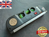 🔥 Personalised Engraved Measuring Tape with Laser and Spirit Level gift DIY man