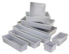 ORDNUNGSSYSTEM SILBER AUFBEWAHRUNGSBOX SORTIERBOX SCHRAUBENBOX ORDNUNG BOX