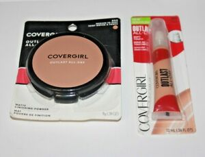 COVERGIRL OUTLAST all day matte finishing powder 850+Soft Touch 840 Lot Of 2 New