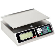 NEW! Tor Rey LPC-40L 40 lb Digital Price Computing Food Scale - Legal for Trade