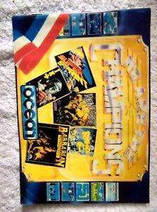 36092 Instruction Booklet - We Are The Champions - Sinclair Spectrum 48K (1986)