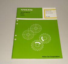 Service Manual Volvo 740 / 760 / 780 Baujahr 1988 New Car Features