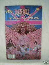 1990 The Who Comic Book Rock 'N' Roll Rare ! Revolutionary Comics