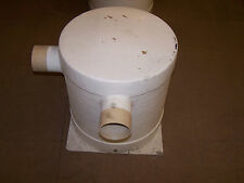 """MARINE EXHAUST MUFFLER FROM UNICRAFT MARINE, 4"""" INLET & OUTLET, NEW SURPLUS!"""