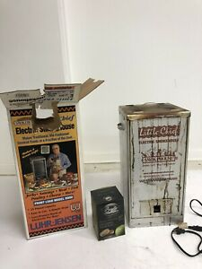 Luhr Jensen Little Chief Electric Smoker w Original Box fish jerky meat sausage