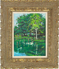 James Wilfrid Kerr (American b.1897) Hand Painted Oil Painting Signed