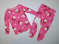 Carter's ~ pijama ~ estados unidos ~ 74-80 ~ navidad ~ fetichistas ~ Pink ~ Santa ~