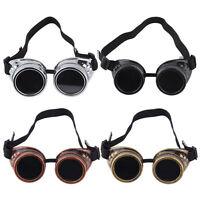 Cyber Goggles Steampunk Glasses Vintage Retro Welding Punk Gothic Victorian DQ