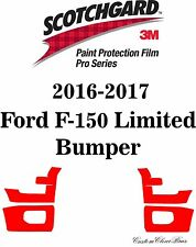 3M Scotchgard Paint Protection Film Pro Series 2016 2017 Ford F-150 Limited