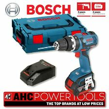 Bosch GSB 18 V-EC Cordless 18V Brushless Combi Drill in L-Boxx 1 x 4.0Ah Li-ion