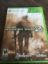Call Of Duty Modern Warfare 2 Xbox 360 Cib Game COD XG2