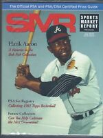 SMR Sports Market Report PSA/DNA Guide Magazine HANK AARON 7 /2015 NEW