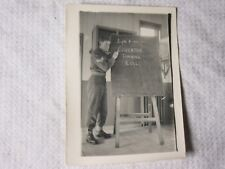 Milt07 - WW2 MILITARY COVENTRY TRAINING COLLEGE Photo 9cm x 6.5cm