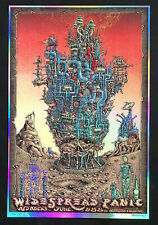 MINT & SIGNED EMEK 2016 Widespread Panic Red Rocks FOIL Poster 13/30