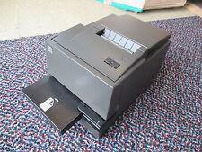 NCR 7167 7167-2001-9001 Thermal Slip Ticket Receipt Printer POS BLACK USB + PSU