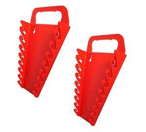 jimy Spanner Rack Gripper 16 Tools Storage Organiser Red Quality