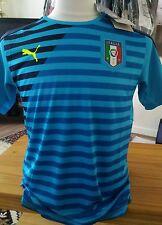 Puma Italie FIGC Stadium shirt jersey 13-14 ans BNWT Bleu atomique-vareuse