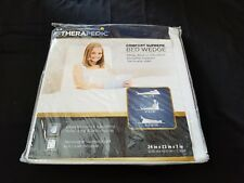 Therapedic Comfort Supreme Bed Wedge Pillow in White