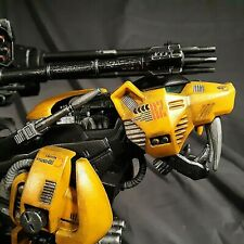 Zoids Custom Painted Zaber Fang Weaponized Black & Yellow W/Custom Stand Nice!