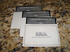 """The Bard's Tale III: Thief of Fate (IBM PC, 1990) 5.25"""" floppy disks"""