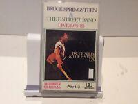 BRUCE SPRINGSTEEN, THE E-STREET BAND PART 3, Cassette Tape