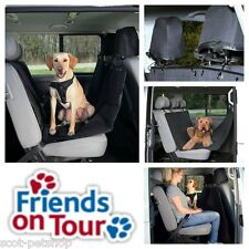 NEW  Heavy Duty Car Seat Cover Dog Rear Seat Car Cover Black