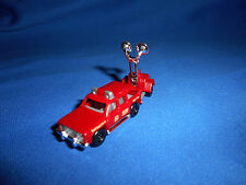 Mini FIRE CHIEF Lights Lightng AMERICAN FIRE TRUCK Plastic Toy Kinder Surprise