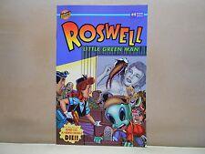 ROSWELL - LITTLE GREEN MAN #4 of 6 BONGO COMICS 9.0 VF/NM Uncertified 1996