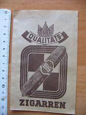 Zigarrentüte Verkaufstüte Extra feine Qualitätszigarren aus den 1960/50er Jahren