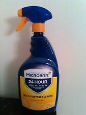 MICROBAN 24 HOUR MULTI-PURPOSE CLEANER CITRUS SCENT 32oz