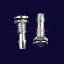 New 2 Pcs Aluminum Water Outlets Thread With O-ring Screws For RC Boat M6