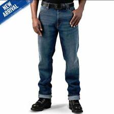 "Harley Davidson Men's FXRG Armalith Riding Jeans Blue 98262-19EM, 38"" W / 34"" L"