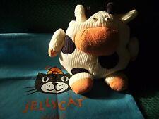 "Jellycat knit Wit  Cow Soft Toy 7"" approx j698"
